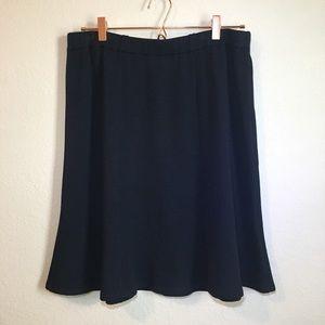 St. John Collection Black knit skirt